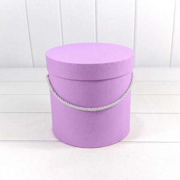Яркий цветочный микс в шляпной коробке фото